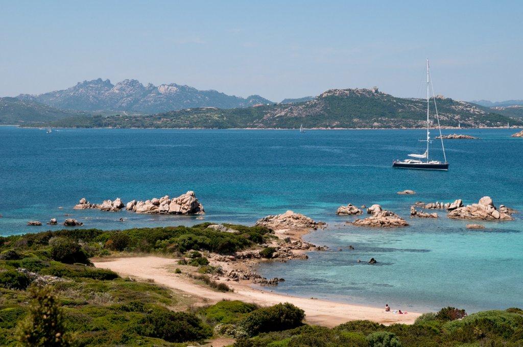 Caprera isola, Arcipelago di La Maddalena